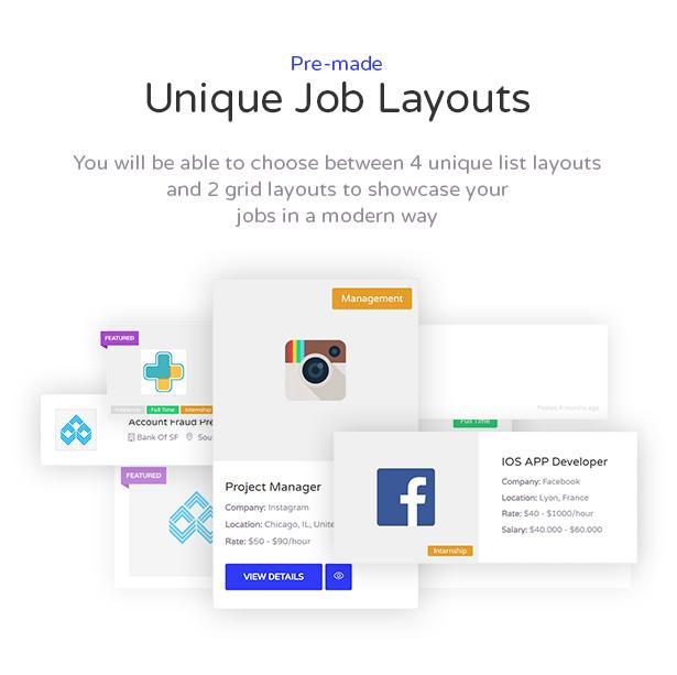 Cariera - Job Board WordPress Theme - 4